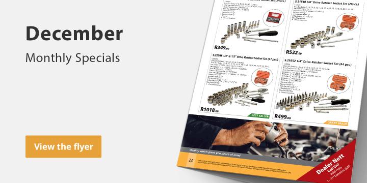 Monthly Specials - December